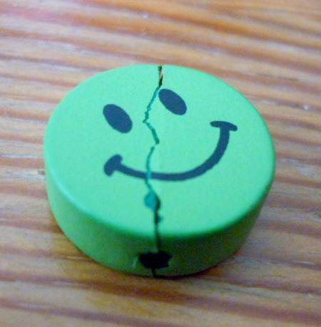 very happy smile